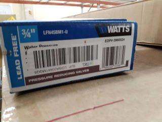 Watts 3 4 in  Brass MPT x FTP Pressure Reducing Valve