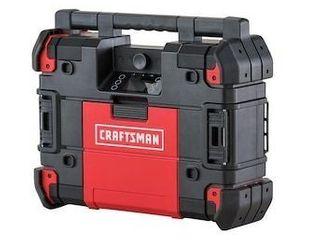 Craftsman Versastack Cmst17510 20v lith ion Bluetooth Radio charger