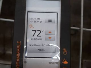 Schluter Ditra Heat Wi Fi Programmable Thermostat  Bright White