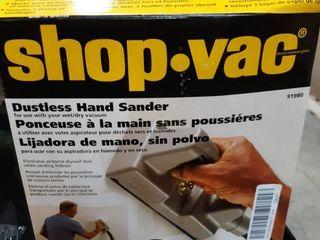 Shop Vac Hand Sander