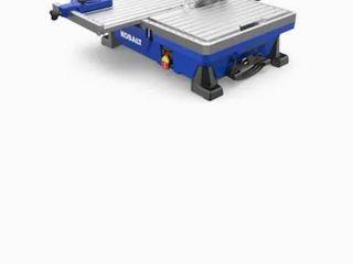 Kobalt 7 in 1 Wet Tabletop Sliding Table Tile Saw