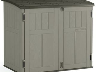 CRAFTSMAN  Common  4 ft x 2 ft  Actual Interior Dimensions  4 08 ft x 2 38 ft  Storage Shed