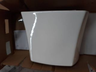 Jacuzzi lyndsay White WaterSense labeled Elongated Chair Height 2 piece Toilet 10 in Rough In Size