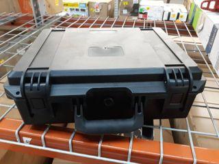 Black Plastic Carrying Case