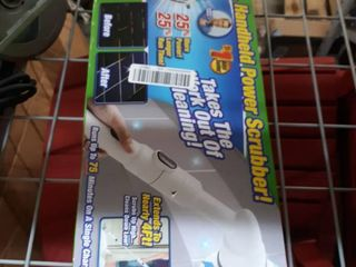 Turbo Scrub  360 Cordless  Rechargeable Floor Scrubber And Tile Cleaning Machine