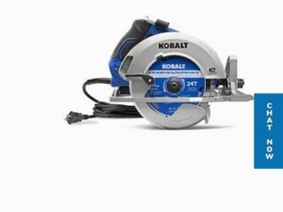 Kobalt 15 Amp 7 1 4 in Corded Circular Saw with Brake and Magnesium Shoe
