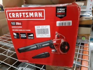 CRAFTSMAN CMXGAAMR25Bl 25 cc 2 cycle 200 MPH 430 CFM Medium duty Handheld Gas leaf Blower