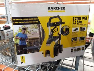 Karcher K1710 1700 PSI 1 2 GPM Cold Water Electric Pressure Washer