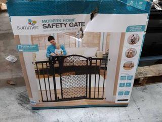 Summer Infant Modern Home Auto Close Baby Gate  Bronze  Bronze Black
