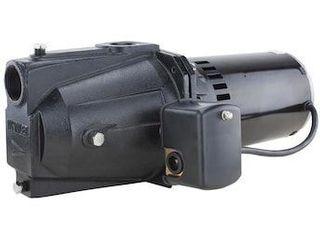 Utilitech 0 5 hpcast Iron Shallow Well Jet Pump