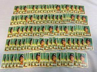 (100) Donald Trump presidential cards 1952 Topps look alike