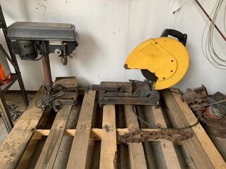 Table top Drill Press   Cut Off Saw
