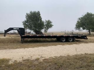 Neckover Gooseneck Equipment Trailer