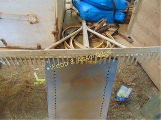 Aluminum rake  miscellaneous horse supplies