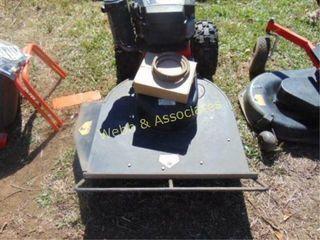 DR all terrain brush mower with finish mower