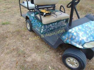 EZ Go golf cart including good batteries