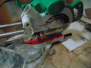Hitachi compound miter saw  new