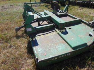 John Deere 1008 rotary cutter with 3 pt hitch
