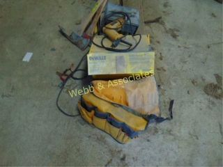 Dewalt angle grinder  Dewalt drill  battery