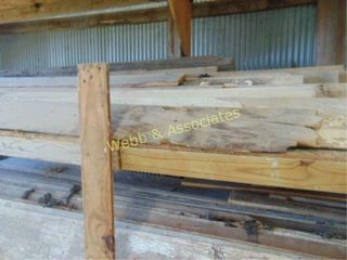 3 shelves of 1  barn wood various widths and