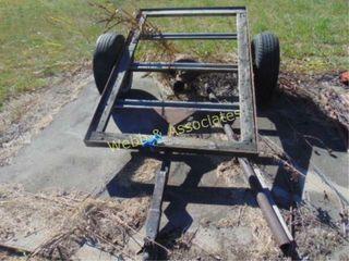 2 wheel utility trailer  needs floor