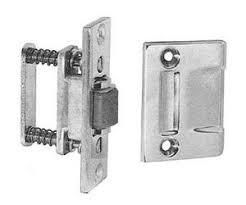 lot of 4 Baldwin 0430260 Roller latch  Bright Chrome