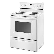 Whirlpool   4 8 Cu  Ft  Self Cleaning Freestanding Electric Range   White