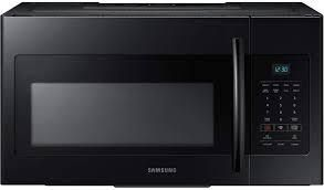 Samsung Microwave Ovens 30 inch  1 6 cu  ft  Over the Range Microwave Oven  ME16H702SEB