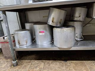 Assorted Sized Pots