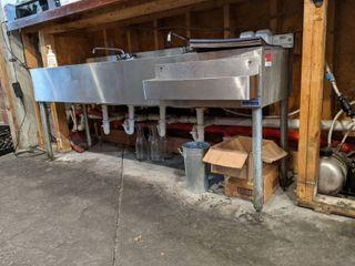 Krowne 4 Bay Sink 18-64C