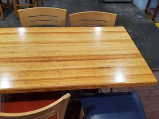 4ft Dining Table With 4 Chairs