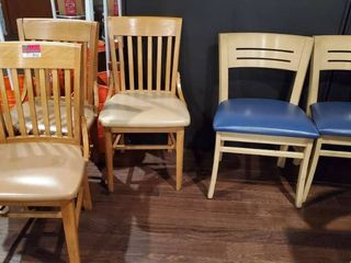 5  Wood Dining Chairs