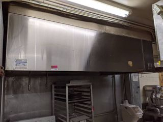 CaptivAire Exhaust Hood  Buyer Responsible For Removal