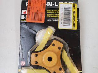 Rino Tuff Push N load 3 Blade Universal Trimmer Head
