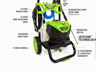 Green works pro 2300 PSI power washer