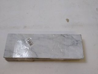 grey marble tiles 4w x 12l 1 4in thick 5