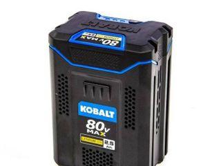 KOBAlT 80v MAX 2 5 ah lithium Ion Cordless Power Equipment Battery