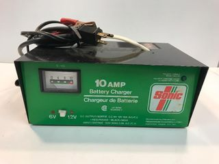 Sonic battery charger