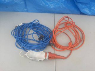 Extension Cord and Trouble light