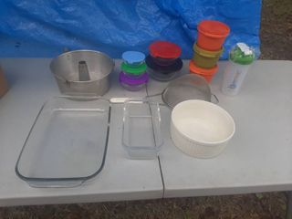 Baking Dishes and Food Storage
