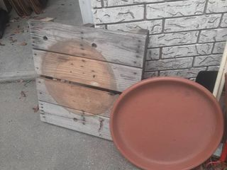 Planter Dolly and Planter Tray