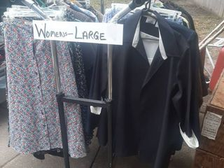Assorted Womens Clothes   Rack Not Included