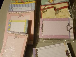 large lot of assorted stationery