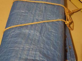 24  x 36  tarpaulin  slightly used