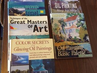 Art   painting books