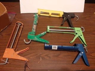 Assorted Caulking Guns