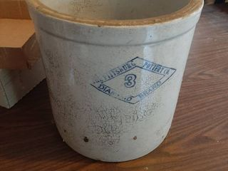 Pittsburgh Diamond 3 Gal Crock