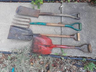 Shovels and Potato Fork