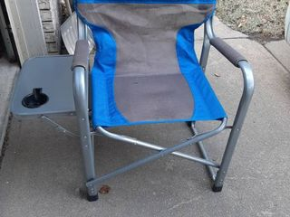 Blue lawn Chair