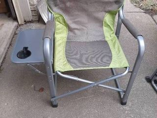 Green lawn Chair